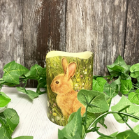 Bright Rabbit Flameless Candle