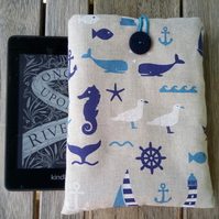 Kindle cover paperwhite seahorse