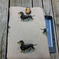 Kindle cover with dachshunds
