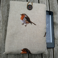 Kindle cover with robins