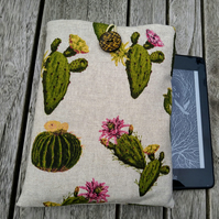Kindle cover with cactus