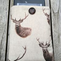Kindle cover with Stags