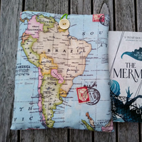 Book cover world map