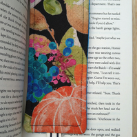 Bookmark with vintage fruit design