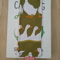 Bookmark with ducks