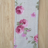 Bookmark with roses
