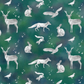 "Gift wrap - unique, recyclable wrapping paper - ""Woodland Spirit Animals"""