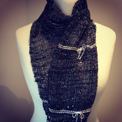 Little black dress scarf