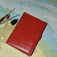 Handmade A5 leather notebook cover with A5 pad