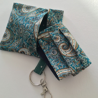 Liberty Face Mask & Matching Keyring Pouch