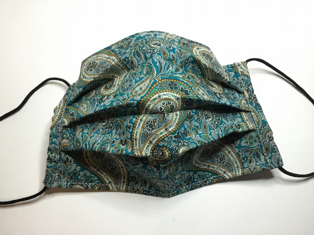 Larger Size Face Covering in Liberty Fabric