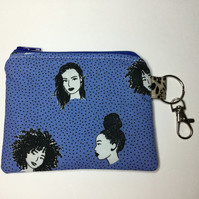 Face Mask Pouch and Keyring