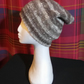 Handspun and Hand-knitted Pointy Hat in Jacobs Wool