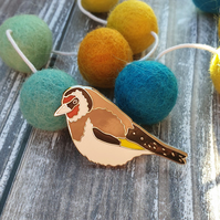 Goldfinch Hard Enamel Lapel Pin