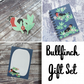 Bullfinch Gift Set - Hard Enamel Pin, A6 Notebook and Gift Note