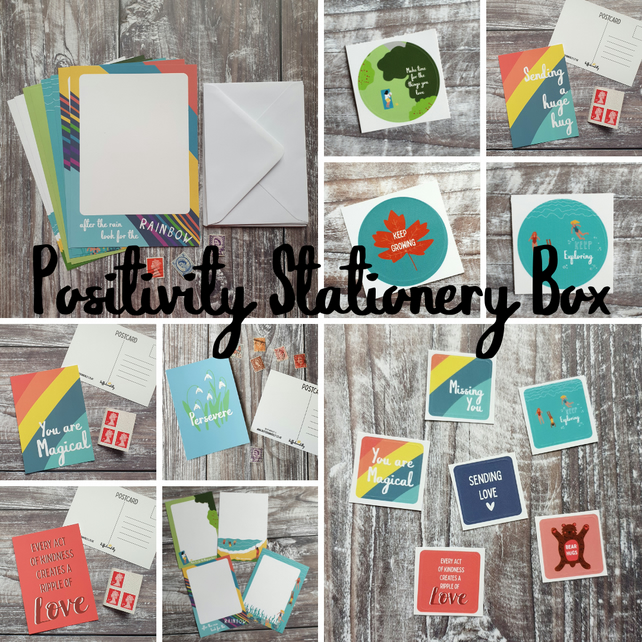Positivity Stationery Box
