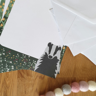Badger A5 Recycled Writing Paper Set