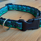 Medium dog collar and lead set