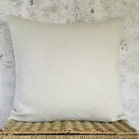Pale Stone Linen Cushion Cover