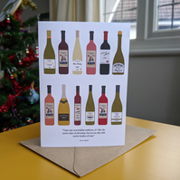 Schitt's Creek 12 Wines of Christmas Card