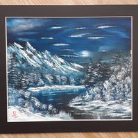 Winter Oil Paintings