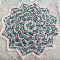 Crochet Star blanket gift set