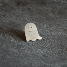 Happy Ghost Pin Badge