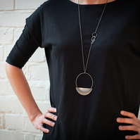The Lazarus- Statement Sterling Silver Necklace