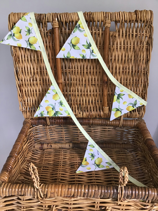 Luscious Lemon Bunting