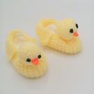 Baby's Novelty Yellow Duck Shoes, 3-9 Months Shoes, Baby Shower Gift, Baby Gift