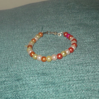 Children's Glass Pearl Bracelet (2)