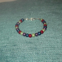 Children's Glass Pearl Bracelet (4)