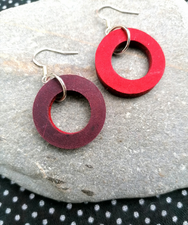 Red Classic Hoops