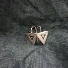 Triangle Triangle Earrings