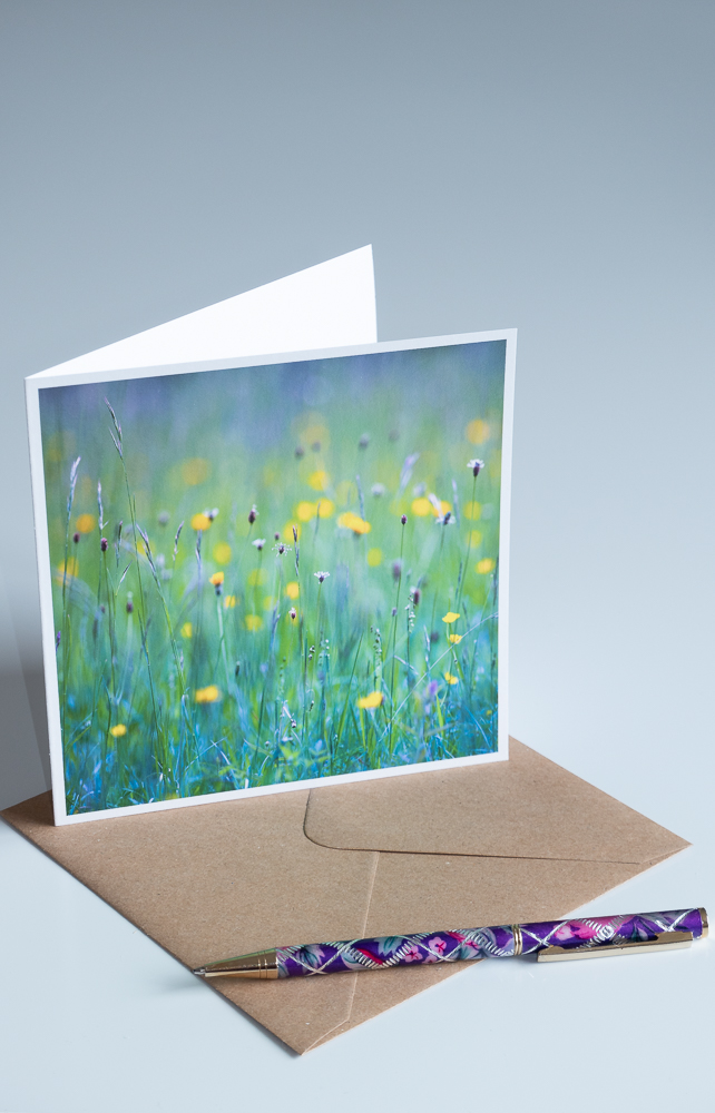 Fine Art Photo Card 'Wildflower Meadow'