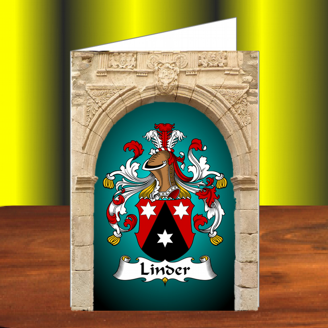 Coat of arms, Family crest, Greetings card, Birthday, Congratulations,