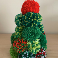 Pom Pom Christmas Tree