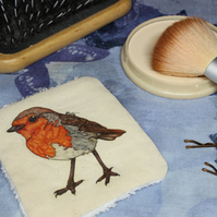 Robin Washable & Reusable Eco Fabric Bird Face Wipe