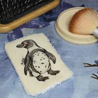 Penguin Washable & Reusable Eco Fabric Bird Face Wipe