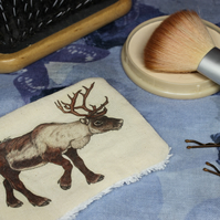 Reindeer Washable & Reusable Eco Fabric Animal Face Wipe