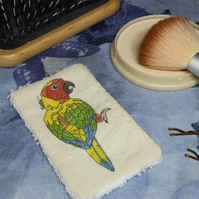 Parrot Washable & Reusable Eco Fabric Bird Face Wipe