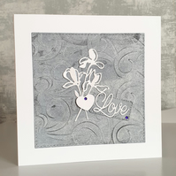 Black and White (Love) Card