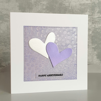 Lilac Anniversary Card