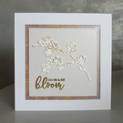 Gold Blossom Card