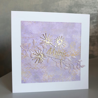 Lilac Mother's Day Card