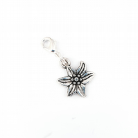 Flower stitch marker, crochet marker, stitch keeper, flower lover stitch keeper
