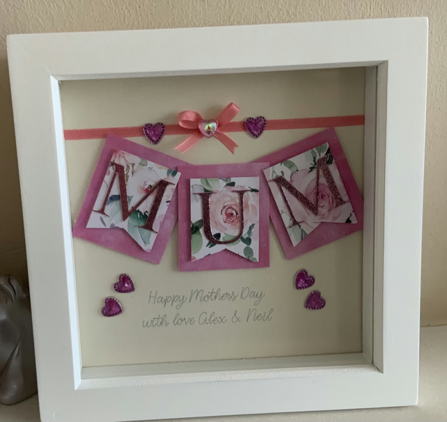 Mother's Day framed picture card