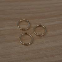 Plain Nose Rings - Gold or Silver