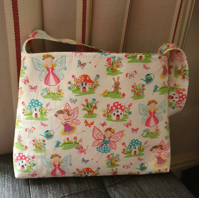 Childs Reversible Fairy Tote Bag  (Ref 0193)
