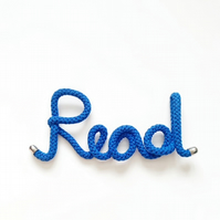 Large Custom wire word, knitted word, wire art, wire words, custom gift